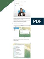Dez Passos Para Se Criar Um Bot No Telegram - THT Brasil - Medium