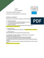 Resumen GRABACIÓN VIDEO Ascenso Cohorte III