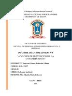 Informe Ecologia Botadero Municipal
