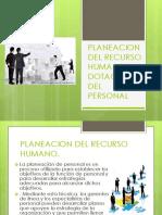 Planeacion de Recurso Humano.
