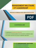 Commandement Militaire Et Leadership