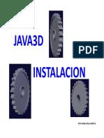Java 3D Modulo 2 Instalación Java 3D