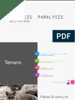 Analisis Paralisis