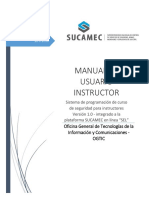Manual Instructor v1