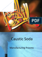 Caustic preparation