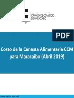 Canasta Alimentaria en Maracaibo superó los 2.000.000 de bolívares en abril (DOCUMENTO)