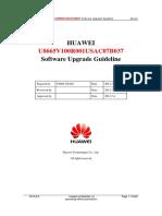 HUAWEI U8665V100R001USAC07B037 Software Upgrade Guideline.pdf