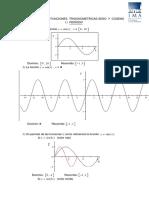 Guía 7 de Trigonometría, Gráfica de Funciones Trigonométricas