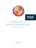 Introduction to International Relations Final (1)