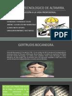 Biografia Gertrudis Bocanegra