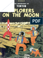 17 Tintin and the Explorers on the Moon