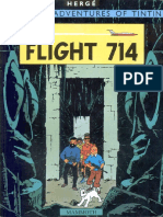 22 Tintin and the Flight 714