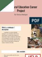 clarissa rodriguez - agricultural careers