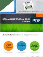 2. Kebijakan Program Imunisasi Di Indonesia