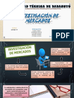 Papel de Investigación de Mercado - Marketing
