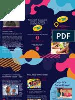 crayola brochure