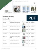 Pricelist - Grosir Baju Muslim Pakaian Wanita dan Busana Hijab Murah.pdf