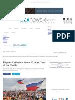 Filipino Catholics Name 2019