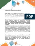 Fase 2 - Implementar Métodos Para Evaluación Del Proyecto Sostenible