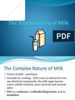 The Biochemistry of Milk