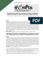 PROGRAMAS DE FOMENTO A EXPANSÃO DO ENSINO SUPERIOR E OFERTA DE CURSOS DE CIÊNCIAS SOCIAIS .pdf