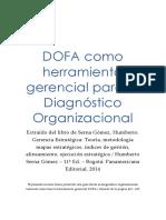DOFA Como Herramienta Gerencial Para El Diagnóstico Organizacional 40664