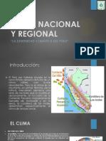 Clima Nacional y Regional- 2