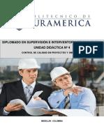 1. UNIDAD DIDÁCTICA 4. INTERVENTORIA DE PROYECTOS Y OBRAS