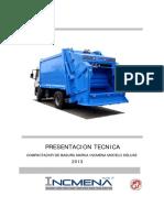 Presentacion Tecnica Compactadoras Incmena 2014