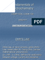 Lecture 4 Electrochemistry