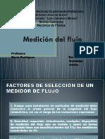 Medicion de Flujo (Mecanica de Fluido)