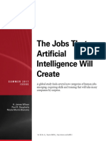 the jobs that artificial intelligence will create