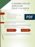 Vieja Generacion de Economistas vs La Nueva