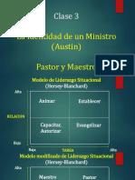 Clase 3. S La Identidad de Un Ministro Pastor y Maestro