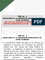 Tema 1 Rama Ejecutiva y Judicial, Control y Electoral(1)