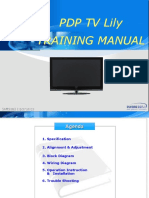 Training Manual Lily Pl42c91hp Pl42q91hp Pl50c91h