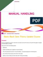 13 Manual Handling