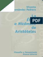 Hernandez Pedrero Vicente - La Etica A Nicomaco De Aristoteles.pdf