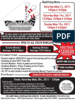 2011 Rab's Junior Masters Tournament Flyer