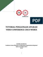 TUTORIAL PENGGUNAAN APLIKASI VIDEO CONFERENCE CISCO WEBEX.pdf