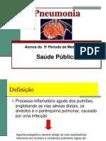 Aula Pneumunia Medicina 5 Periodo