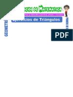 Ejercicios de Triángulos Para Primero de Secundaria
