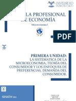 I-sesion 01- La Sistematica de La Microeconomía
