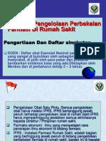 pedoman pengelolaan perbekalan farmasi di RS.ppt