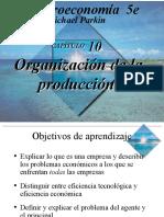 Ch10 Organizacion de La Produccion.