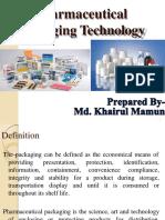 Pharmaceutical Packaging Final