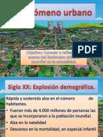 I.1-El Fenómeno Urbano