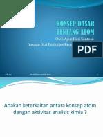 Konsep Dasar Atom 2012