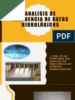 Analisis de frecuencia de datos hidrologicos