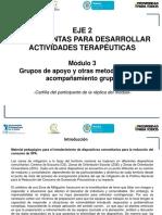 Cartilla Participante Grupos Apoyo